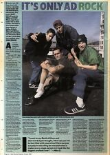 13/6/92Pgn42 ARTICLE & PICTURES : THE BEASTIE BOYS AND HENRY ROLLINS