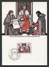 LIECHTENSTEIN MK 1982 EUROPA CEPT MAXIMUMKARTE CARTE MAXIMUM CARD MC CM d5426