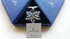 Swarovski Crystal, 2014 Snowflake Christmas Ornament. Art No 5059026