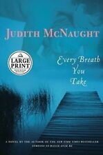 Every Breath You Take by Judith McNaught (2006, Hardcover, Large Type) Book Club