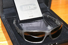 NEW RARE OAKLEY 123/250 C SIX Carbon Fiber/Tungsten Irid Polarized OO4047-02