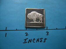 ★★ BUFFALO ★★ 1/4 OZ MADISON MINT 999 SILVER ART BAR~ VERY RARE