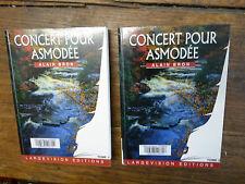 Concert  pour Asmodée / Alain Bron Tomes 1 & 2  écrit en gros caractères