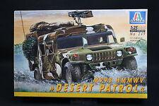 XZ095 ITALERI 1/35 maquette voiture 249 M998 HMMWV Desert Patrol