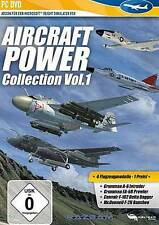 AIRCRAFT POWER COLLECTION VOL 1 ADDON für Microsoft Flight Simulator X 2004 Neuw