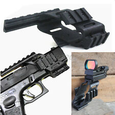 NEW 20mm Rail Mount+Reflex Holographic 4 Reticle Red Dot Sight for GLOCK 17/CP99