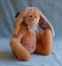NWT OOAK  Artist Mohair Teddy Bear Bunny Rabbit by Sally Winey ~ 1998 ~ 18 inch