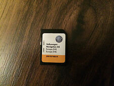VW Volkswagen Passat,Tiguan,Golf  Europa V4 Navigation AS Card 2015 / 2016.