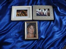 Lot of THREE 4x6 Picture Frames! Set Dressing - AUTHENTIC TED 2 Screen Used Prop