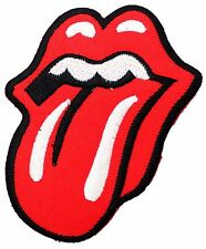 Stick Out one's Tongue Red Lip Patches Jacket T-Shirt Iron On Applique P097