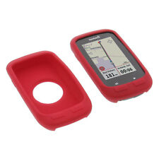 Tasche für Garmin Edge 1000 Schutz Hülle Silikon Gummi Case GPS Computer Rot