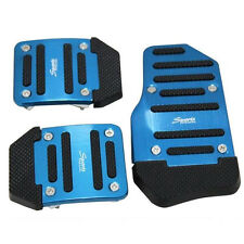 Car Manual Transmission Thickening Non-slip Brake Clutch Accelerator Pedal Blue