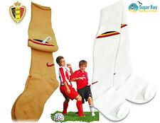 2 x NIKE Boys BELGIUM Football Socks Home and Away Childs Boys Girls UK12-2
