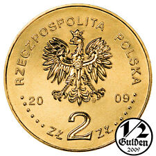 POLAND COMPLETE SET OF 18 COINS 2 ZLOTY 2009 NORDIC GOLD UNCIRCULATED COINS