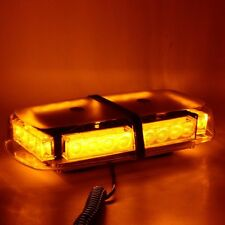 24 LED Amber Car Roof Magnetic Emergency Hazard Warning Flash Strobe Light Lamp