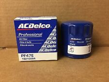 Genuine ACDelco Professional Engine Oil Filter PF47E 19210284 FREE SHIPPING