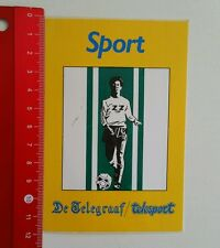 Aufkleber/Sticker: De Telegraaf telesport - sport (05061655)