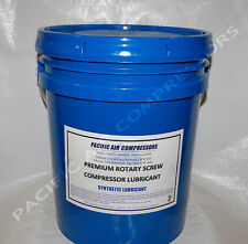 141140-005 QUINCY 4000 HR 5 GAL SEMI-SYNTHETIC ROTARY AIR COMPRESSOR OIL