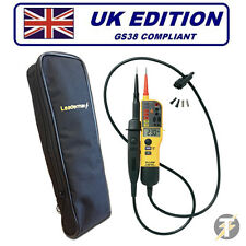 Fluke T150 (T140 Upgraded) Voltage & Continuity Tester PLUS LDMC1 Case!!