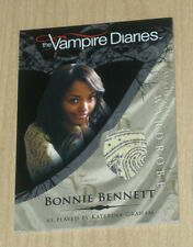Cryptozoic Vampire Diaries wardrobe costume Bonnie Bennett Kat Graham M7 var #4