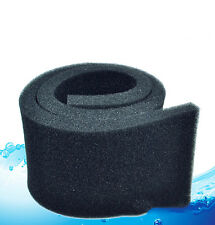 50*10*2cm Biochemical Cotton Filter Foam Sponge  Aquarium Fish Tank Pond UK