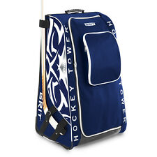 "New GRIT HTSE wheeled hockey tower stand bag junior 33"" equipment Toronto blue"