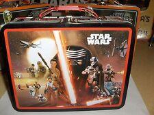 Star Wars-R2D2 & CP30 & Darth`2015`Lucasfilm Ltd`Metal Lunchbox`New- Free To US
