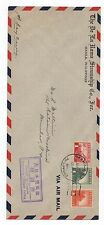 "1943 Wwii Philippine 1st Day Issue Cover "" Passed by Censor Japanese Military."""
