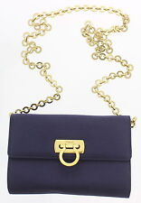 SALVATORE FERRAGAMO SATIN CROSSBODY