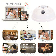 Wireless HD Spy Smoke Detector WIFI Hidden Digital Video Motion Night Vision Cam
