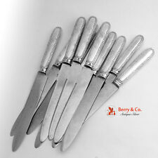 French Bougainville Dinner Knives 11 Pieces Puiforcat Sterling