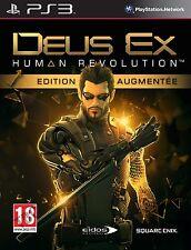 DEUS EX  HUMAN REVOLUTION   -  EDITION AUGMENTEE      -----   pour PS3