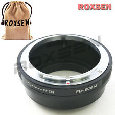 Roxsen Canon FD mount lens To Canon EOS M EF-M mount Mirrorless Camera Adapter