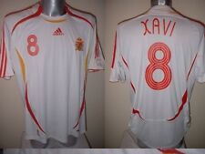 Spain Espana Xavi Shirt Jersey Football Soccer Adidas Adult M Barcelona 2006 W