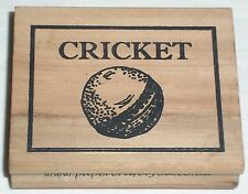 Cricket - Mary Hughes - papercraft4you - Rubber Stamp Stempel