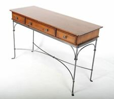 Ducal Pine Table Writing Table Hall Table Desk Console Iron