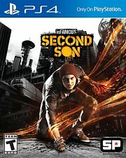 inFAMOUS Second Son  (Sony PlayStation 4, 2014) Brand New