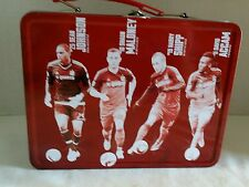 Chicago Fire TIN LUNCH BOX MLS Soccer Johnson, Maloney, Shipp and Accam - Quaker