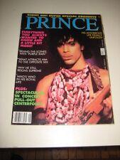 Prince Right ON magazine super special on Purple rain 1984  Rare