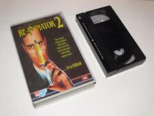 VHS Video ~ Re-Animator 2 ~ Premier Screening Cassette ~ Large Case ~ Medusa
