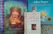 3 hardback books about The Jabez Prayer by Bruce Wilkinson & Rebecca St. James
