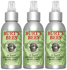 Burt's Bees Herbal All Natural Citronella Oil Insect Bug Repellent 3 pk 118714-3