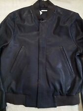 NWT $2500 PAUL SMITH ITALY FULL GRAIN LEATHER BOMBER 38 40 M PRICEWILLNOTGODOWN