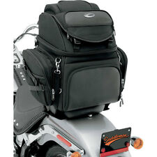 Saddlemen BR3400 Back Seat/Sissy Bar Luggage Bag for Harley Tourng Motorcycle
