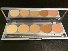 Kryolan 19015 HD Micro Foundation Face Stage Makeup Cache Palette - TNN