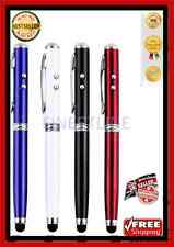 4 in 1 Laser, LED Torch and Stylus Writing Pen with FREE P&P( Battery Included)