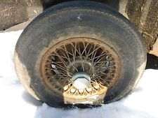 1972-80 MGB GT Coupe Fastback Original Wire Wheels Set of 5 PL101 +