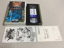 Vampire The Night Warriors Darkstalkers Gamest Video Vol.12 GV-12 VHS CAPCOM