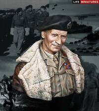 Life Miniatures Gen. Bernard Law Montgomery WW2 1/10th Bust Unpainted kit