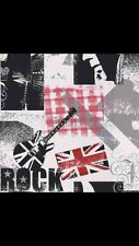 Black / White / Red / Grey - F56909 - ROCK Music Guitars Union Jack - Wallpaper